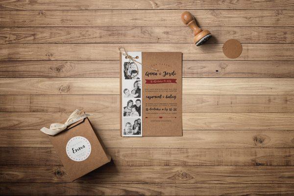 Estàs Convidat Wedding Planner - Invitacions de casament en català