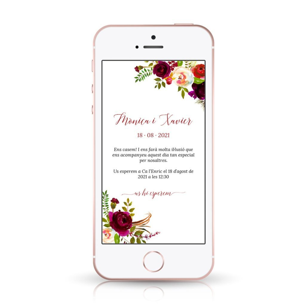 Invitación de boda online